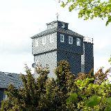 Turm der Dachdeckerschule Lehesten