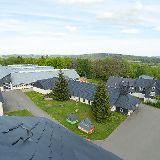 Werkhallen der Dachdeckerschule
