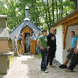 Grillkota & Grillplatz an der Villa