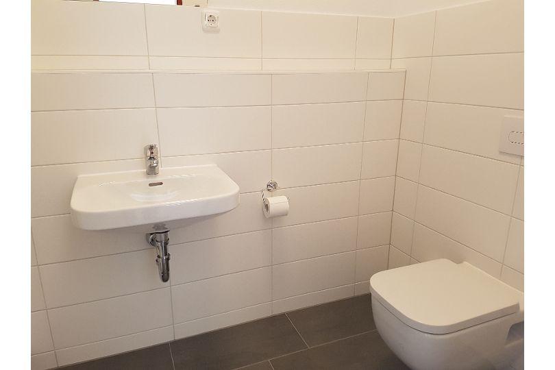 Modernisierter Sanitärberiche im Wohnheim
