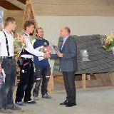 Siegerehrung Leistungswettbewerb 2018 Dachdecker