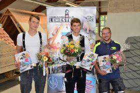 Die 3 Teilnehmer des Wettbewerbs