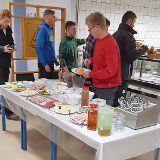 Speisesaal für die Verpflegung