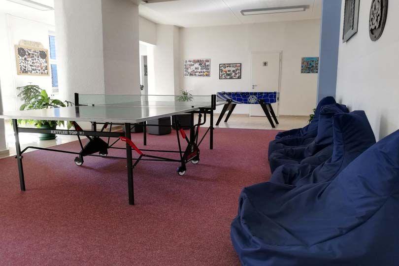 Tischtennis, Tischkicker oder einfach erholen